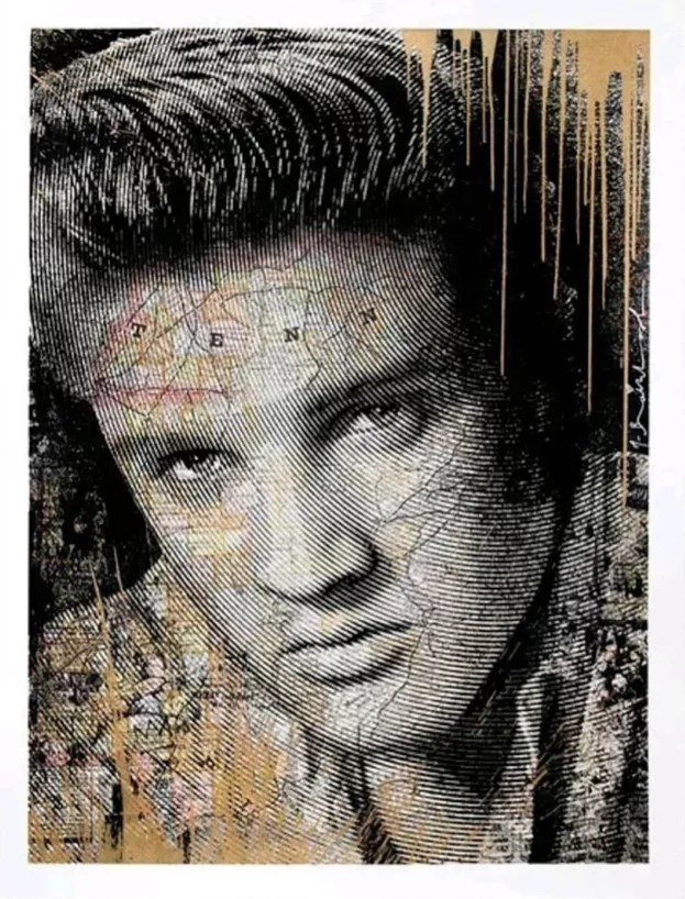 Mr. Brainwash King of Rock gold silkscreen - MR. BRAINWASH - King of Rock