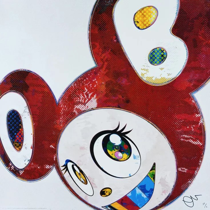 Murakami And then X6 offset lithography - TAKASHI MURAKAMI - And then X 6