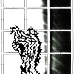 Polke Ghost serigraphy - Graphics