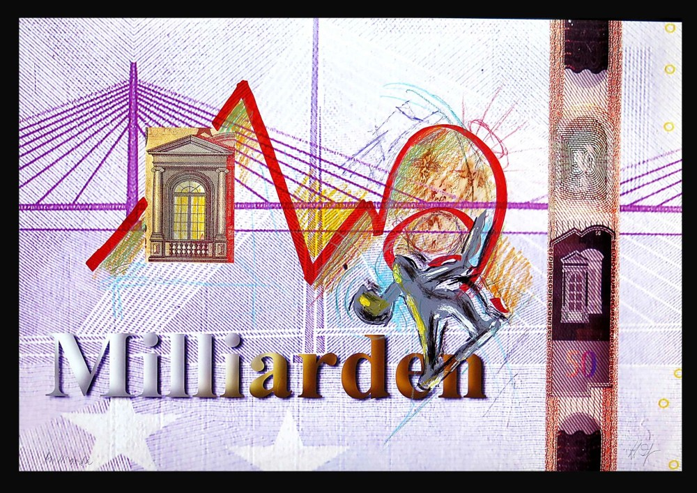 Zolper Milliarden I from the Money series scaled - HEINZ ZOLPER - Milliarden