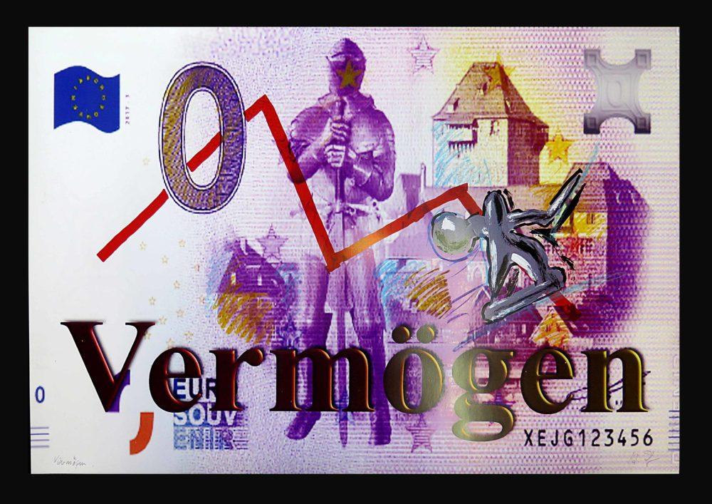 Zolper Vermögen I from the Money series scaled - HEINZ ZOLPER - Vermögen
