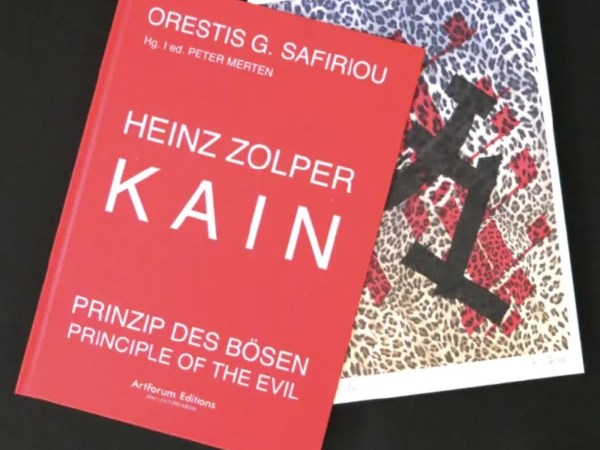Zolper. Kain, Principle of the Evil, with graphic. ArtForum Editions