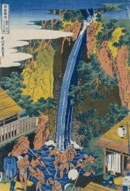 Hokusai - Roben Waterfall at Ohyama