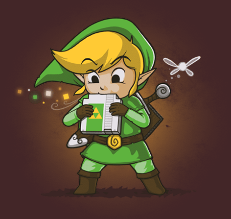 Legend of Zelda Cartridge of Time T-Shirt On Sale For $11 Today Only!