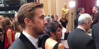 Ryan Gosling, Close up, Oscars 2017