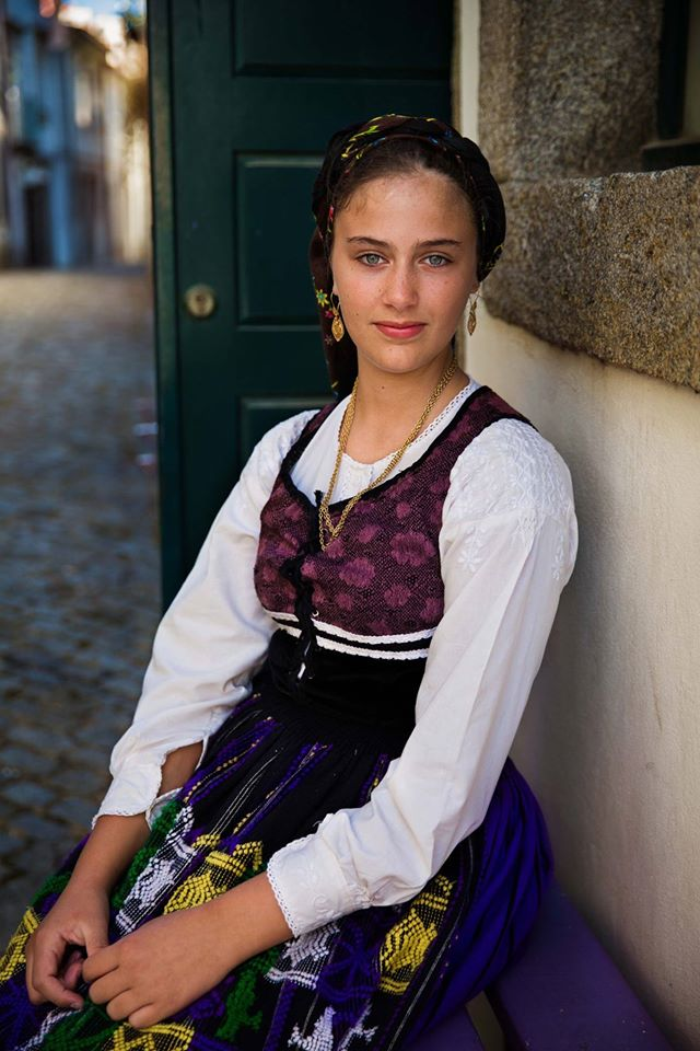 Beautiful women of portugal
