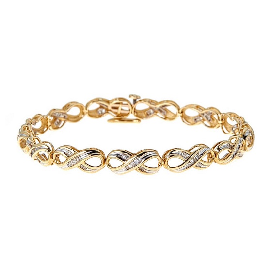Tulcy Diamond Tennis Bracelet, $999