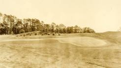 The slopes in Augusta National's original greens can be seen in 85-year-old photography.