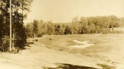 Augusta National's original sixth hole from the tee