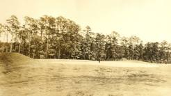 MacKenzie's original 17th hole had no bunkers.