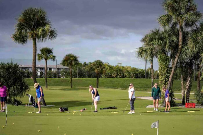 Fore The Ladies 2019 Chipping
