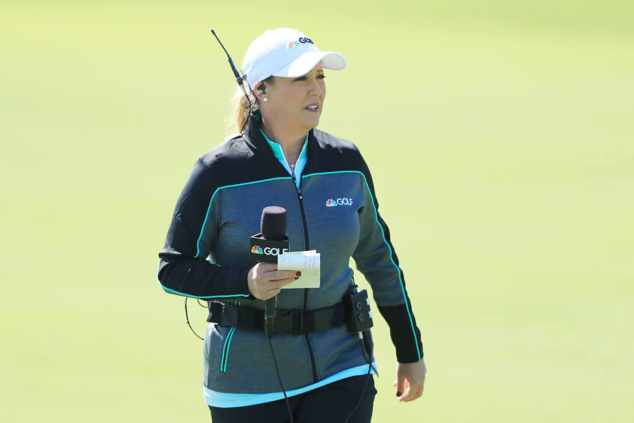 Cristie Kerr Takes Her First Shot At On-Course Reporting