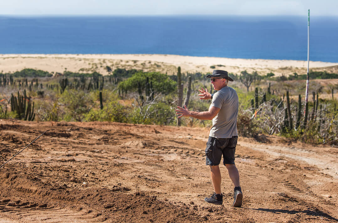 Moving Dirt With Greg Norman