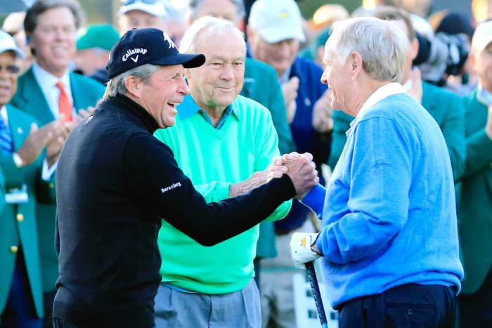 Gary Player, Arnold Palmer, Jack Nicklaus