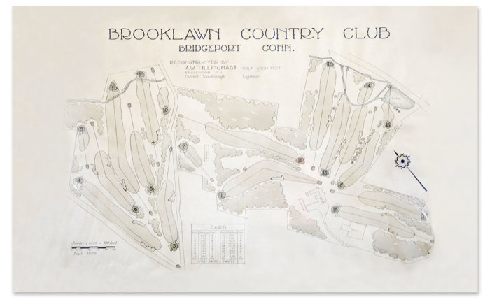 Brooklawn Tillinghast plan