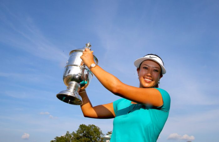 Michelle Wie, 2014 U.S. Open trophy