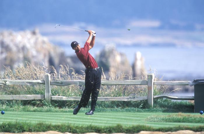 Tiger Woods, 2000 U.S. Open