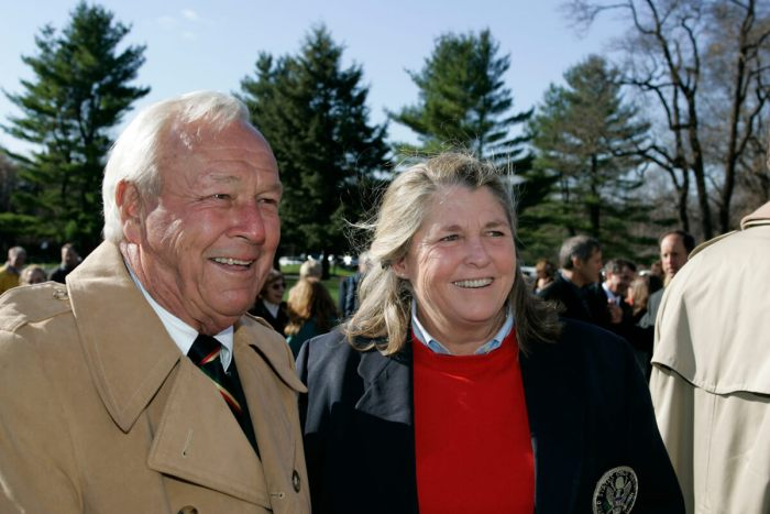 Arnold Palmer and Mary Bea Porter-King