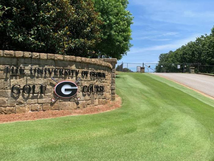 University of Georgia entrance sign