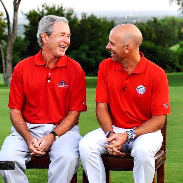 George Bush, Dan Rooney