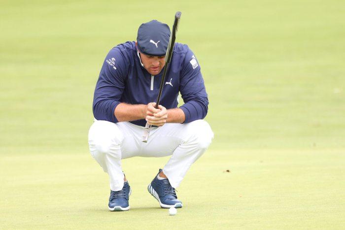 Bryson DeChambeau, 17th hole, round two U.S. Open