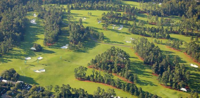 Augusta National aerial
