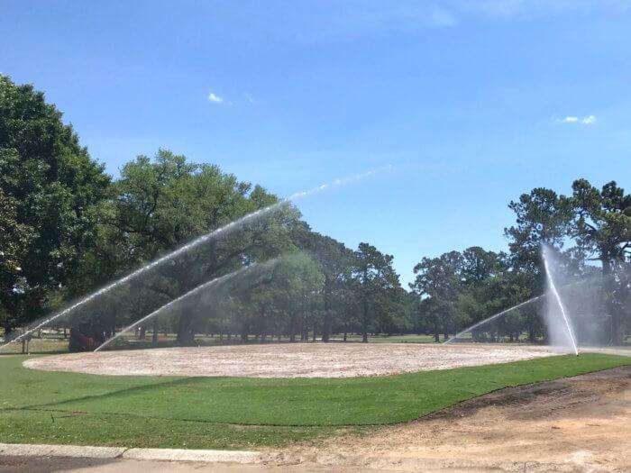 Charleston Municipal Golf Course Practice Green