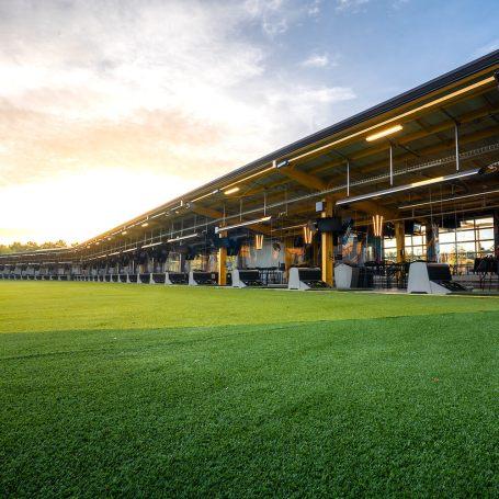 Topgolf Augusta inside venue