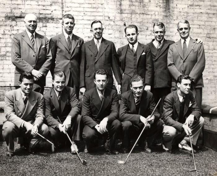 1938 U.S. Walker Cup team
