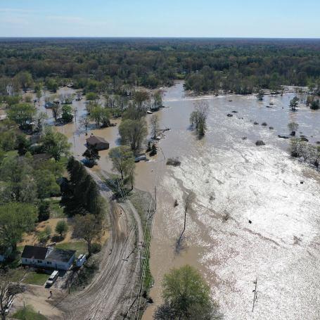 Dow Event Marks Emotional Return For Flood-Ravaged Midland