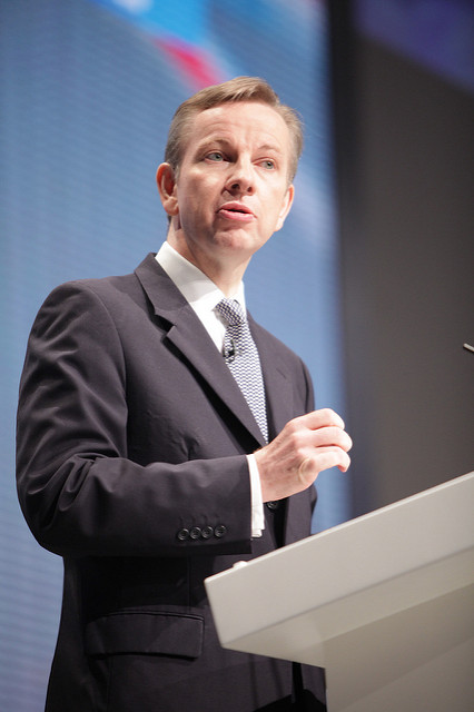 Justice secretary and leading 'Leave' campaigner, Michael Gove, pictured at the Conservative Party conference