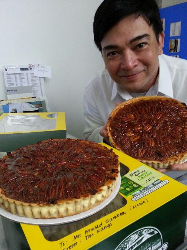 Arnold Gamboa, Pecan Pie
