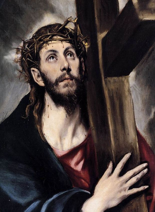 Christ Carrying the Cross (1580) By El Greco