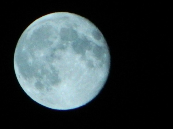 Supermoon on 11 August 2014 Photo by PH Morton