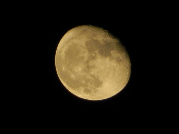 Waning Gibbous Moon by PH Morton