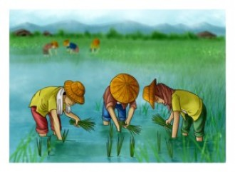 Planting Rice by Keeve Neo