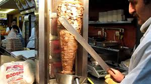 Carving for a Donar kebab