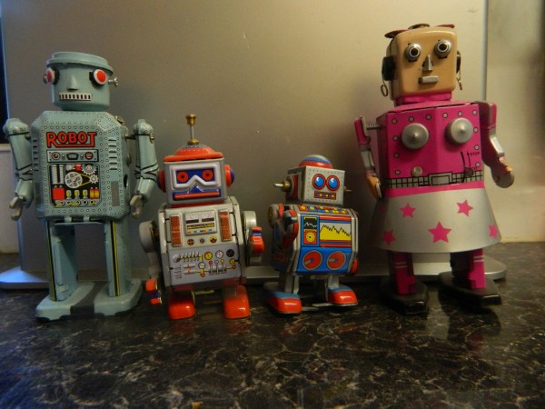 Mr & Mrs Robot and offspring photo by PH Morton