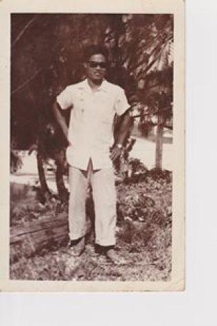Eligio Wamil, Guam in the 50s