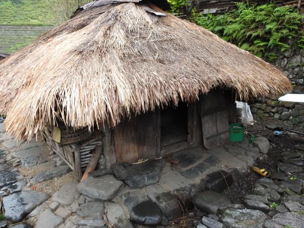 A real bahay kubo at the Banaue Rice Terraces, Photo by PH Morton