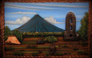 Mayon painting