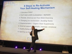 Dr. Edward Group presents The Secret to Health and the self-healing mechanism at The Truth About Cancer Symposium.