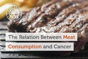A grilled steak. There is a strong, well-documented relationship between the consumption of meat and cancer.
