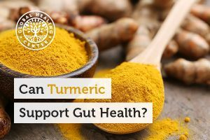 A spoon full of turmeric. Studies show that turmeric can help improve the digestive system.