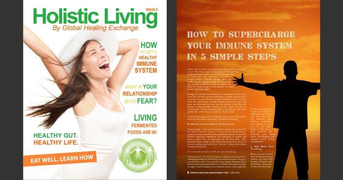 Holistic Living Magazine - The Immune System