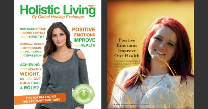 Holistic Living Magazine - Releasing Emotions