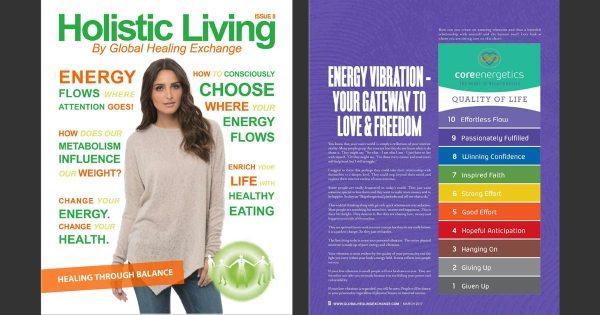 Holistic Living Magazine 8 - Energy and Consciousness