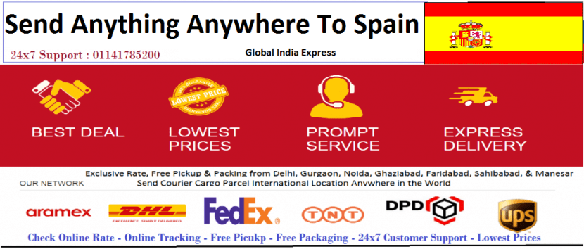 Courier-Cargo-Parcel-shipping-to-Spain gurgaon-noida-faridabad-ghaziabad-india-delhi-1024x437