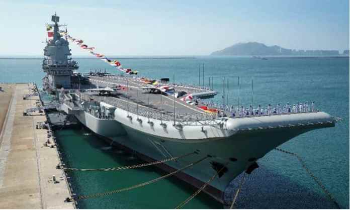 china,s first home buiit aircraft carrier