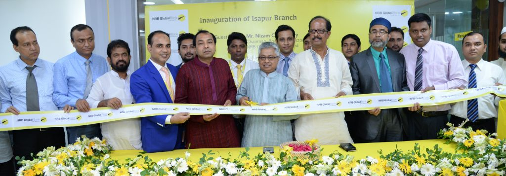 NRB Global Bank formally opens its Isapur Branch at Hathazari, Chattogram